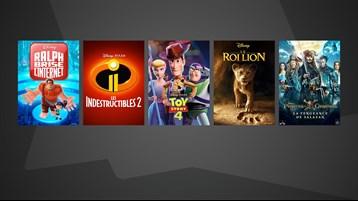 Films Disney et Fox à partir de 7.99 €