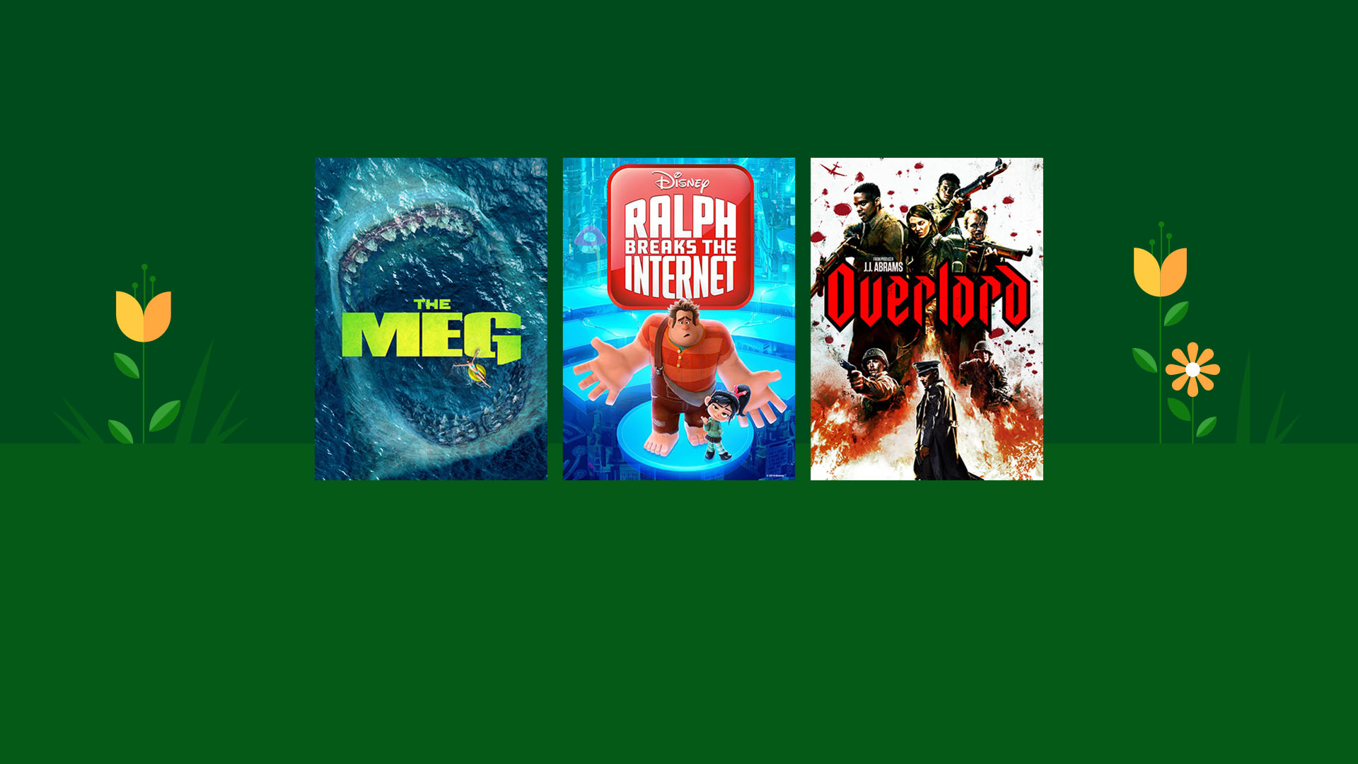 Up to 40% off hit movies & TV